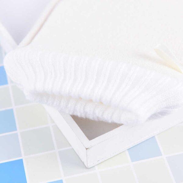 loofah gloves exfoliate