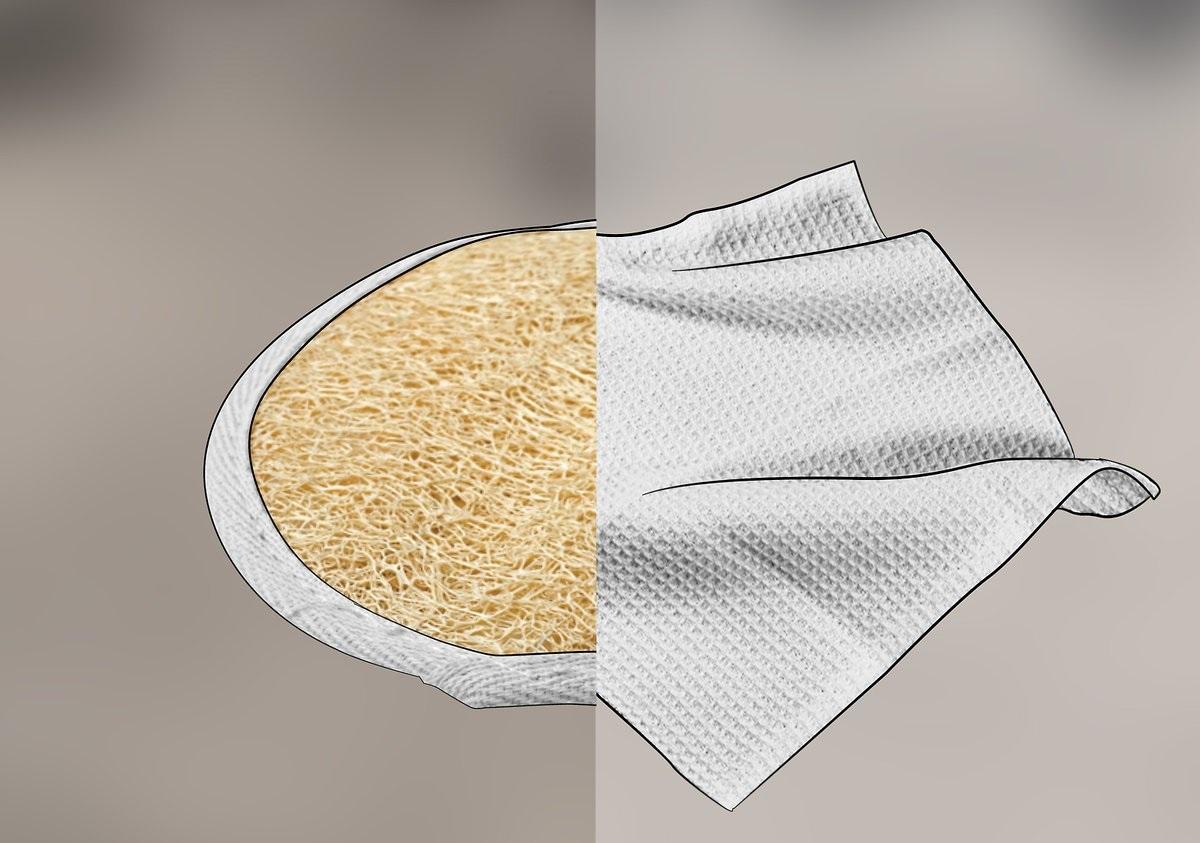 Washcloth Vs Loofah | Cute Eve Egyptian Luffa Sponges Wholesale Supplier