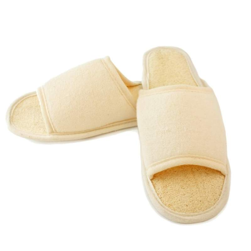 Natural Loofah Slippers Wholesale Supplier